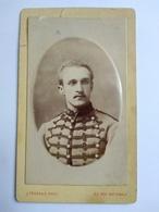 CDV Militaire Chasseur à Cheval Du 19 ème - Circa 1896 - Photo Jules Ferrand, LILLE - BE - Guerra, Militari