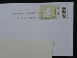 Agneau Sheep Timbre En Ligne Montimbrenligne Sur Lettre (e-stamp On Cover) TPP 5071 - Farm