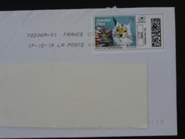 Joyeuses Fêtes 2019 Chat Cat Timbre En Ligne Montimbrenligne Sur Lettre (e-stamp On Cover) TPP 5075 - Chats Domestiques
