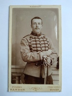 CDV Militaire Chasseur à Cheval Du 12 ème - Circa 1898 - Photo Randon , ROUEN.  TBE - Guerra, Militari