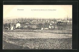 CPA Fresnes, La Vallee De La Bievre Et Le Chateau Bizet - Fresnes