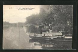 CPA Joinville-le-Pont, La Marne Au Petit Tambour - Joinville Le Pont