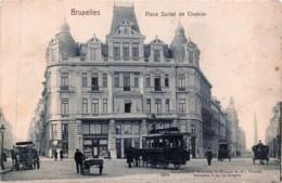 Bruxelles - Place Surlet De Chokier -  Edit. Hoffmann N° 3251 - Squares