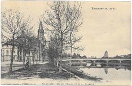 BACCARAT : PROMENADE PRES DE L'EGLISE - Baccarat