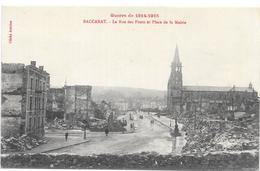 BACCARAT : LA RUE DES PONTS - Baccarat