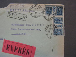 Express MeF 1931  Nach Chur - Francia