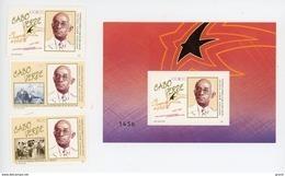 Cap Vert-Cabo Verde-1988-Président Pereira-YT 538/40+B14***MNH - Cap Vert