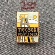 Badge Pin ZN006489 - Hungary Mecseki Széntröszt Coal Mine - Cities