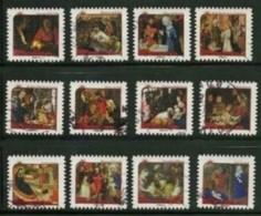 2011 Yt Adh 621 à 632 (o) La Nativité - Oblitérés