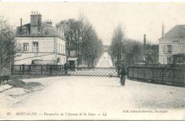 N°4672 T -cpa Mortagne -perspective De L'avenue De La Gare- - Mortagne Au Perche