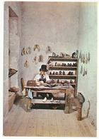 CPSM / CPM 10.5 X 15 Reconstitution D'un Atelier De CORDONNIER (7) Musée De La Chaussure Romans Drôme - Ambachten
