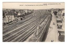 91 ESSONNE - JUVISY Vue Panoramique Des Voies Du Chemin De Fer - Juvisy-sur-Orge