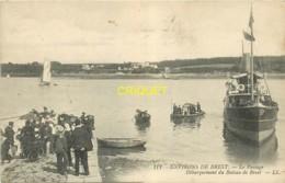 29 Brest, Le Passage, Débarquement Du Bateau - Brest
