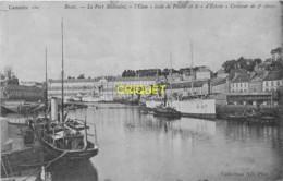 29 Brest, Le Port Militaire, L'Elan école De Pilotes Et Le D'Estrées Croiseur De 2e Classe, Belle Carte Pas Courante - Brest