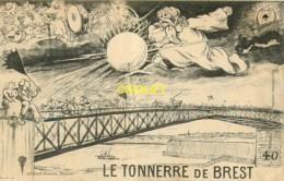 29 Brest, Ancienne Fantaisie Artaud-Nozais, Le Tonnerre De Brest, N° 40 - Brest