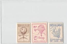 AVIATION 1939 POLAND - GORDON BENNET BALLOON - Luchtballons