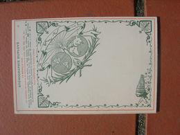 Cpa 9x14 NV DS Institut De Stenographie De France Steno Duploye A Sinceny Carte Du Monde 15 Bon Etat - Scuole