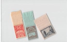 """"""" Pour Les Mutilés """" 3 Stamps - Belgique"""