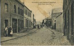 CPA 59 AULNOY-LES-VALENCIENNES Rue Jean Jaures Rare - Aulnoye