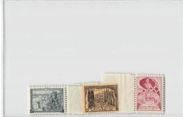 """ Pour Les Mutilés "" 3 Stamps - Ongebruikt"