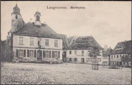 AK Langenzenn Marktplatz, Ungelaufen - Langenzenn