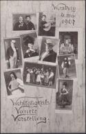 AK Würzburg Wohltätigkeits Variete Vorstellung 4 Mai 1907, Ungelaufen - Wuerzburg