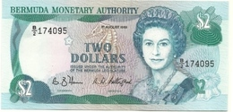 Bermuda - 2 Dollars 1989 - Bermudes
