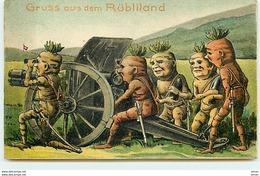 N°12313 - Argovie - Gruss Aus Dem Rübliland - Carottes Militaires Humanisées - Surréalisme - AG Argovie