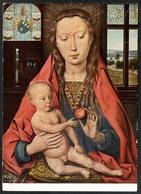 D3917 - H. Memling Künstlerkarte - Maria Mit Dem Apfel - Krippe Weihnachtskrippe - Brügge Johannes Hospital - Non Classificati