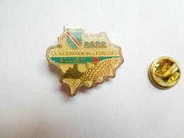 Beau Pin's , Poisson , Pêche ,  AAPP , Saint Germain Des Fossés ( Forssés ) , Allier , Blason Du Bourbonnais - Animals