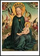 B4805 - Stephan Lochner Künstlerkarte - Maria Im Rosenhag - Krippe Weihnachtskrippe - Bayerische Gemäldesammlung München - Non Classificati