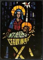 B3004 - Sepp Vees Künstlerkarte - Kirchenfenster In Der St. Bernadett Kirche Blaubeuren - Krippe Weihnachtskrippe - Non Classificati