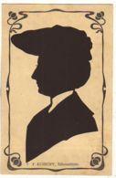N°14514 - Silhouette De Femme - F. Kurkoff - Silhouettes