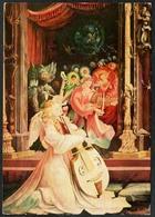 D1293 - Mathias Neithart Grünewald Künstlerkarte - Krippe Weihnachtskrippe - Geburt Christi - Non Classificati