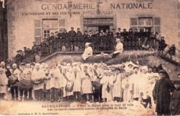63 - Puy De Dome - SAUXILLANGES - Les Cornards - Avant Le Départ Pour Le Tour De Ville - RARE - Autres Communes