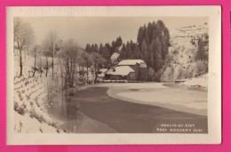CARTE PHOTO (Réf: Z 2812) MOULIN-du-SAUT  (JURA) Près De Nozeroy Sous La Neige - Other Municipalities