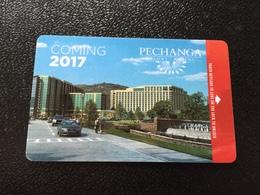 Hotelkarte Room Key Keycard Clef De Hotel Tarjeta Hotel  PECHANGA RESORT & CASINO  TEMECULA - Telefonkarten