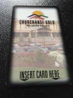 Hotelkarte Room Key Keycard Clef De Hotel Tarjeta Hotel  CHUKCHANSI RESORT & CASINO  CARSONGOLD - Telefonkarten