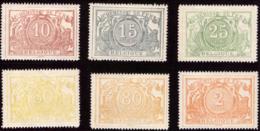 Belgium TR 0007...14** MNH Impression Sur Papier Blanc - Chemins De Fer