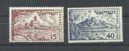ISRAEL  YVERT  43/44   MNH  ** - Israel