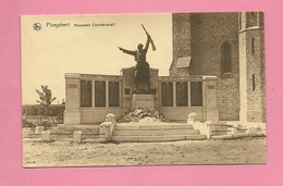 C.P. Ploegsteert =  Monument 1914-1918 - Komen-Waasten