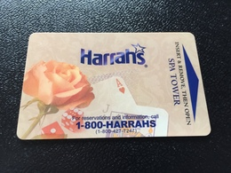 Hotelkarte Room Key Keycard Clef De Hotel Tarjeta Hotel  HARRAHS RINCON SAN DIEGO SPA TOWER - Télécartes