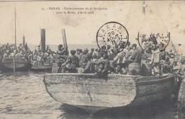 DAKAR (Sénégal): Embarquement Du 4ème Sénégalais Pour Le Maroc, 9 Avril 1908 - Senegal