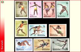 Burundi 0102/11** ND Jeux Olympiques Tokio MNH - Burundi