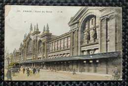75 - PARIS - Gare Du Nord [animation, Tramway] (C. M. , N° 16) - Ganzsachen
