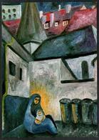 D0134 - Beate Heinen Künstlerkarte - Weihnachten - Krippe Weihnachtskrippe - Kunstverlag Maria Laach - Non Classificati