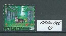 LETTLAND MICHEL 805 Gestempelt Siehe Scan - Latvia