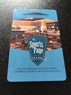 Hotelkarte Room Key Keycard Clef De Hotel Tarjeta Hotel  CACHE CREEK CASINO RESORT - Telefonkarten