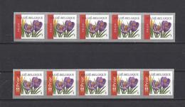 Belgique: R106 Et 108 ** ( Le 108 Fin De Rouleau) - Coil Stamps