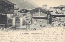 VS LE CHATELARD ROUTE DE CHAMONIX MONT BLANC GRENIERS Editeur JULLIEN FRERES JJ 1934 - VS Valais
